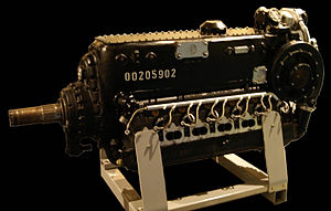 Daimler-Benz DB 605 - A DB 605 Engine at the RAF Museum in London.