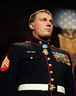 English: Portrait of Medal of Honor recipient ...