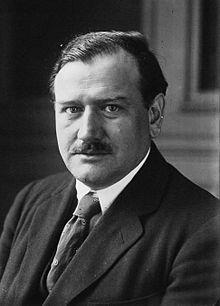 Édouard Daladier en 1924.