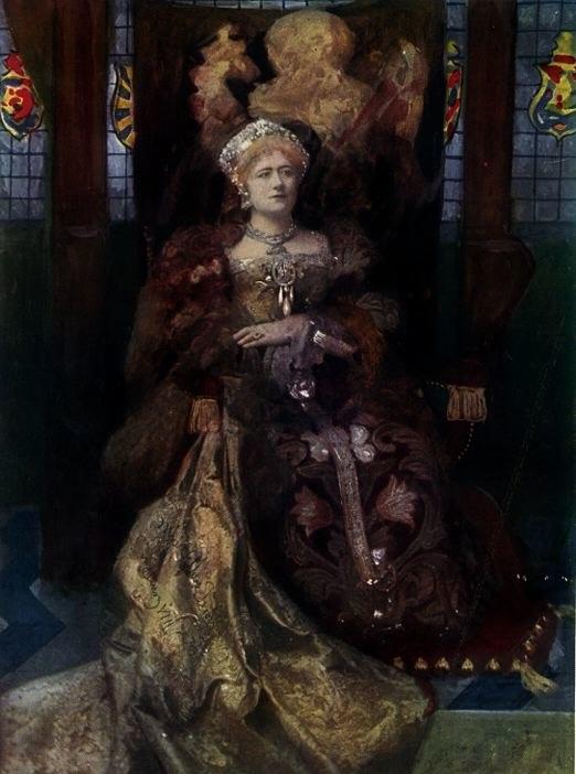 Dame Ellen Terry as Katherine of Aragon Shakespeare Henry VIII