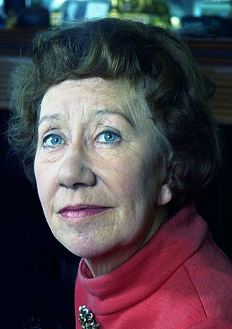 Flora Robson - Dame Flora Robson in 1973, Brighton, London by Allan Warren