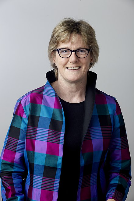 Dame Sally Davies, current master of Trinity Dame Sally Davies FMedSci DBE FRS.jpg