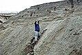 Dan Leavell & glacial outwash (Pleistocene; St. Louisville gravel pits, Licking County, Ohio, USA) 2 (45388219524).jpg
