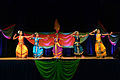 Dancers perform classical South Indian styles of dance at the 2013 Pentagon Diwali celebration.jpg