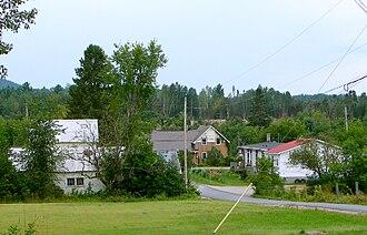 Alleyn-et-Cawood, Quebec - Danford Lake