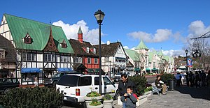 Solvang, California - Danish-styled Solvang, California