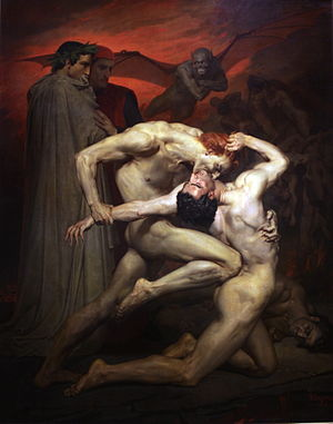 Dante and Virgil - Image: Dante et Virgile William Bouguereau IMG 8283
