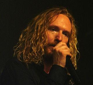Mikael Stanne Swedish singer