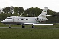 Dassault Falcon 2000 Republic of Bulgaria LZ-OOI, LUX Luxembourg (Findel), Luxembourg PP1209679815.jpg