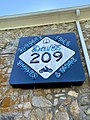Dave's 209 Cafe Sign, Old Spring Creek School, Spring Creek, NC (50550818948).jpg
