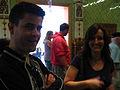 Dave and Petra - Brighton Mini Maker Fair 2011.jpg