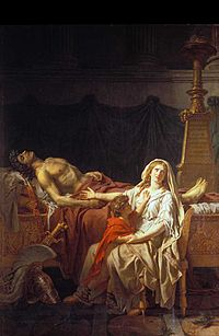 c54d803b9c52 La Douleur d Andromaque de Jacques-Louis David (1783), musée du Louvre