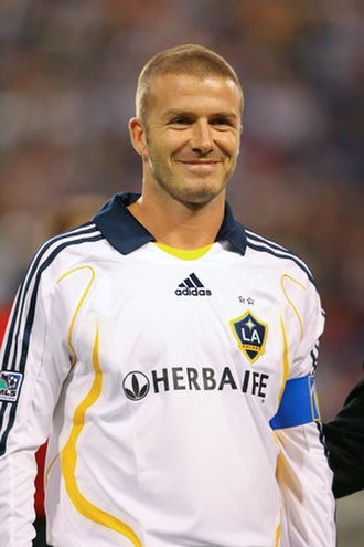 LA Galaxy - David Beckham playing for Galaxy in 2007