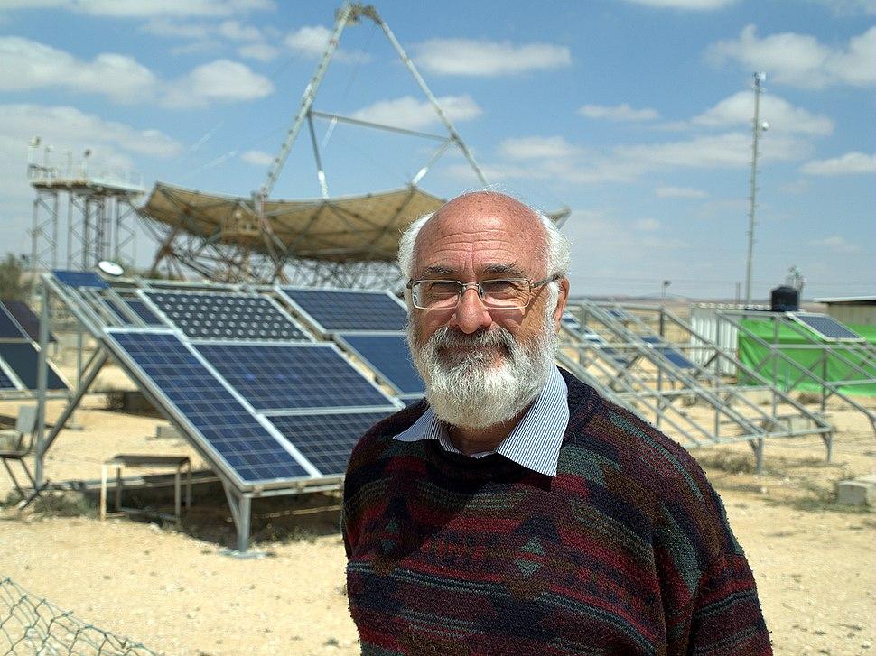 David Faiman of the Ben-Gurion National Solar Energy Center