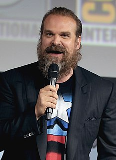 David Harbour American actor