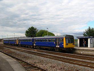 Dawlish Warren railway station - A First Great Western service to Paignton