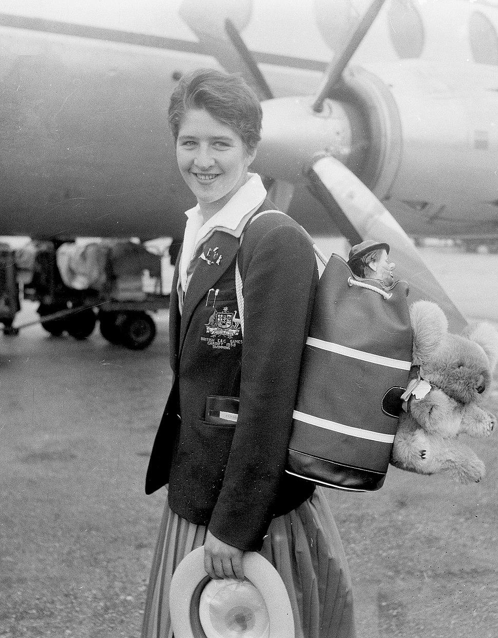 Dawn Fraser 1958