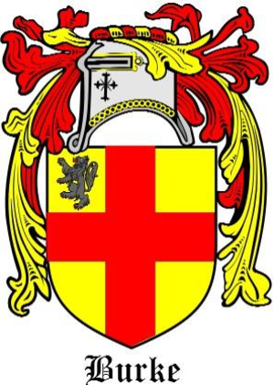 Flag of Ulster - Image: De Burgh Arms