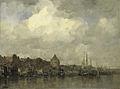 De Schreierstoren aan de Buitenkant te Amsterdam Rijksmuseum SK-A-2702.jpeg