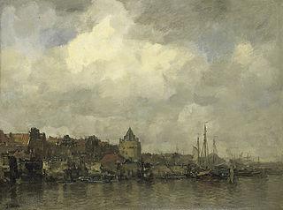 De Schreierstoren aan de Buitenkant te Amsterdam