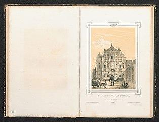 De kerk van de Jezuïeten, de Sint-Carolus Borromeuskerk, te Antwerpen.