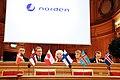 De nordiska statsministrarna haller pressmote pa Nordiska radets session i Stockholm 2009 (1).jpg