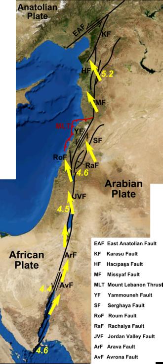 Dead Sea Transform - Image: Dead Sea Transform