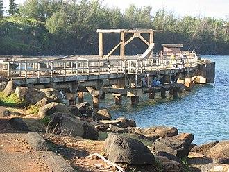 Ahukini State Recreation Pier - Ahukini State Recreation Pier, December 2003