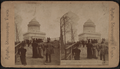 Dedication of Grant's Tomb. The Tomb from river front, from Robert N. Dennis collection of stereoscopic views.png