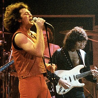 Ian Gillan - Gillan performing live with Deep Purple at the Cow Palace, San Francisco, 1985