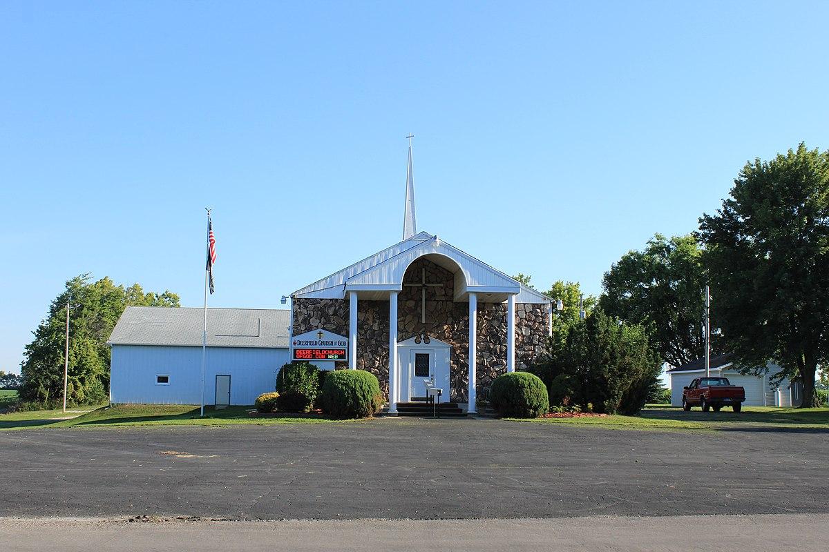 File:Deerfield Church of God, 386 West Keeagan Street ...