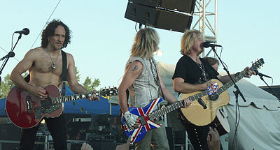 Four Def Leppard songs were on the top ten of the Billboard Hot 100. DefLeppard1.JPG