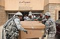 Defense.gov News Photo 110503-A-RH393-131 - U.S. Army soldiers with the 214th Military Police Company provide medical supplies to the Tal Kayf clinic in Tal Kayf district Mosul Iraq in.jpg