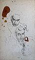 Dehodencq A. - Ink - Etude de têtes - 18x30.5cm.jpg