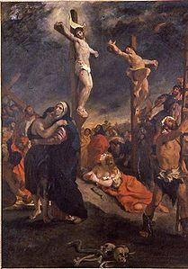 Kristus på korset (1835).
