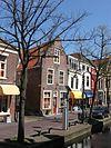 foto van Gerend pand op de hoek van de Trompetstraat
