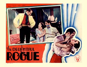 The Delightful Rogue - Movie card for the film