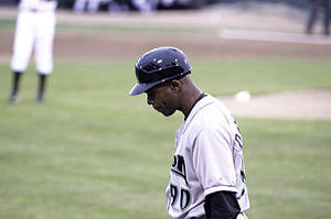 Delino DeShields - DeShields managing the Dayton Dragons in 2011