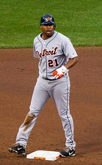 Delmon Young - Young with Detroit Tigers in 2012
