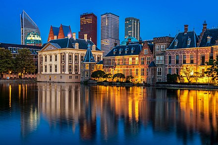 The Binnenhof, where the lower and upper houses of the States General meet Den Haag - panoramio - Nikolai Karaneschev.jpg