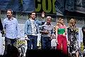 Denis Villeneuve, Ryan Gosling, Harrison Ford, Ana de Armas & Sylvia Hoeks (36201112315).jpg
