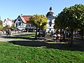 Denkmalnummer A 0233 + B 0012 Dortmund - Wasserschloss Haus Rodenberg - Dortmund-Aplerbeck - Biergarten (teilweise A).jpg