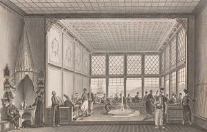Ottoman Old Regime - A coffeehouse in eighteenth-century Istanbul.