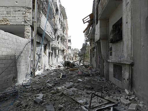 Destruction in Homs (4)