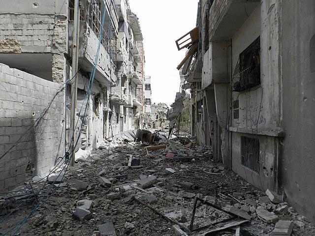 Syria Destruction, From WikimediaPhotos