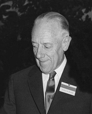 Detlev Bronk - Bronk in 1963