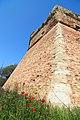 Dettaglio Bastione Mura Fortezza di Poggio Imperiale.JPG