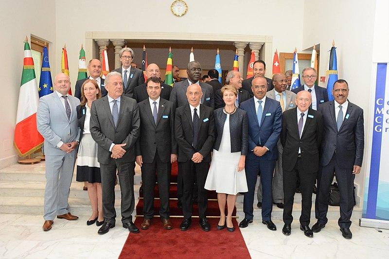 File:Deuxième réunion du groupe de communication des ministres de l'Intérieur sur la route de l'immigration en Méditerranée, Tunis, 24 juillet 2017.jpg