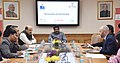 Dharmendra Pradhan addressing at the signing ceremony of a tripartite MoU between NSDC, Tourism and Hospitality Sector Skill Council and Airbnb to Upskill Hospitality Entrepreneurs, in New Delhi.jpg