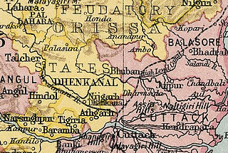 Athgarh State princely state of India during the period of the British Raj